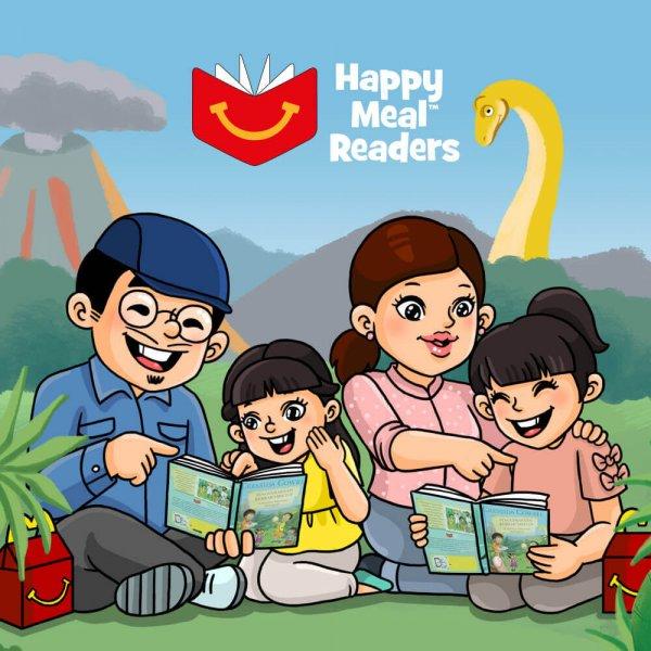 McDonald's Happy Meal Reader