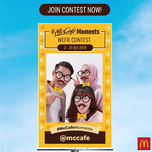 McCafe AR Filters