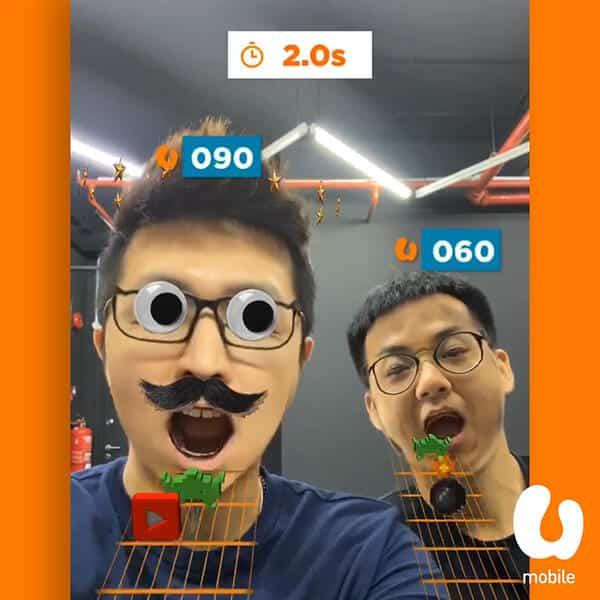 U Mobile #MadeForUnlimited AR Game