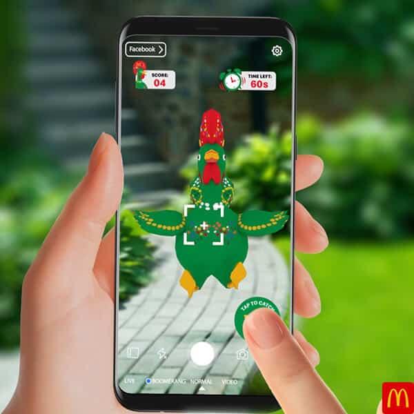 McDonald's Portugese Burger AR Game